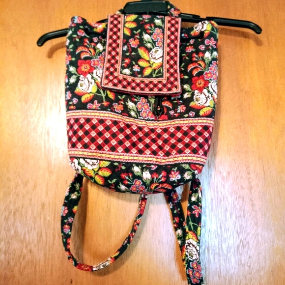 Vera Bradley MiMi Backpack and Matching Wallet
